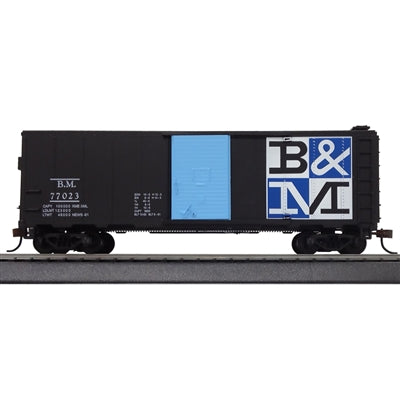 Mantua 734530 HO B&M Checkerboard 40' Sliding Door Box