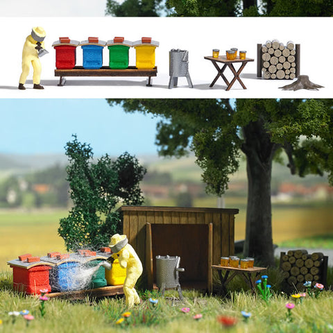 Busch 1179 HO Beekeeping Kit