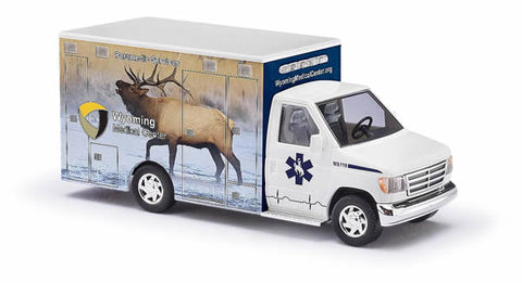 Busch 41845 HO Ford E-350 Wyoming #5 - ELK