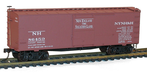 Accurail 1703 HO New Haven 36' Double Sheath Wood Boxcar #86459