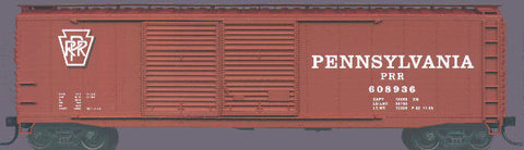 Accurail 5204 HO Pennsylvania 50' Double Door Riveted-Side Boxcar #608936