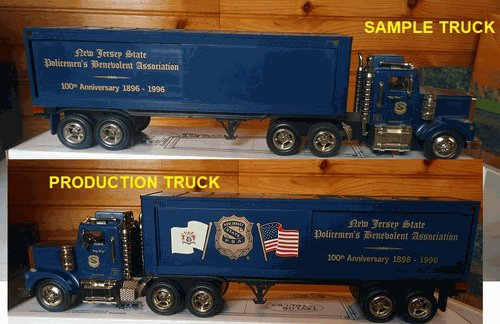 RMT NJPBABOX2 NJPBA O 100th Anniversary Box Trailer Truck