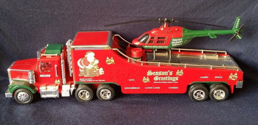 RMT CHRMHELI O Christmas Helicopter Truck