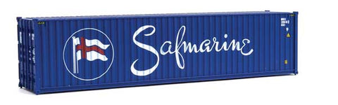 Walthers 949-8272 HO Safmarine 40' Hi-Cube Corrugated-Side Container