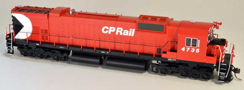 Bowser 24289 HO Canadian Pacific Rail MLW M636 Diesel Locomotive with Sound #4730