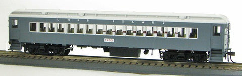Con-Cor 94101 HO Long Island Tichy Gray mP-54 Coach with White Roofs #145