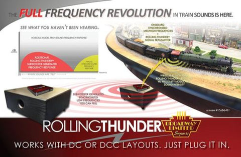 Broadway Limited 1698 N Rolling Thunder Complete Set