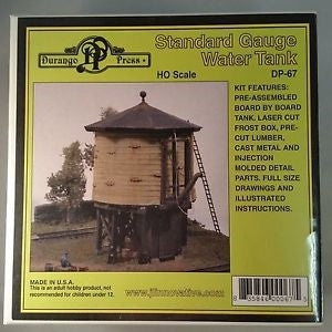 Durango Press 067 HO Standard Gauge Water Tank Kit