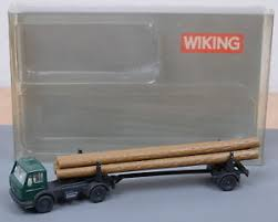 Wiking 90939 N Truck and Cable Hauler