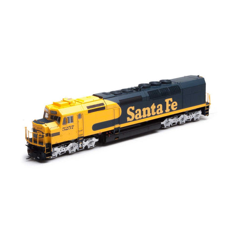 Athearn G63979 HO Santa Fe SDF40-2 with DCC & Sound #5257