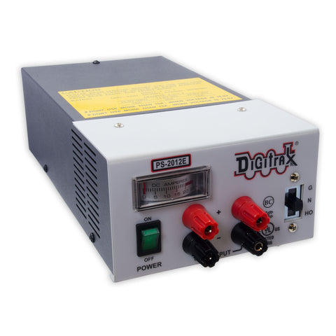 Digitrax PS2012E 20 Amp Power Supply 13.8-23VDC