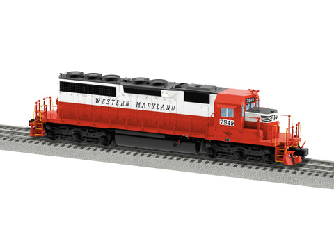 Lionel 6-84269 O Western Maryland Legacy SD40 Diesel Locomotive #7549