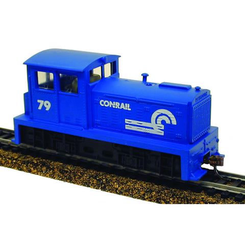 Model Power 966791 HO Conrail DDT Plymouth Industrial Diesel Loco DCC/Sound #79