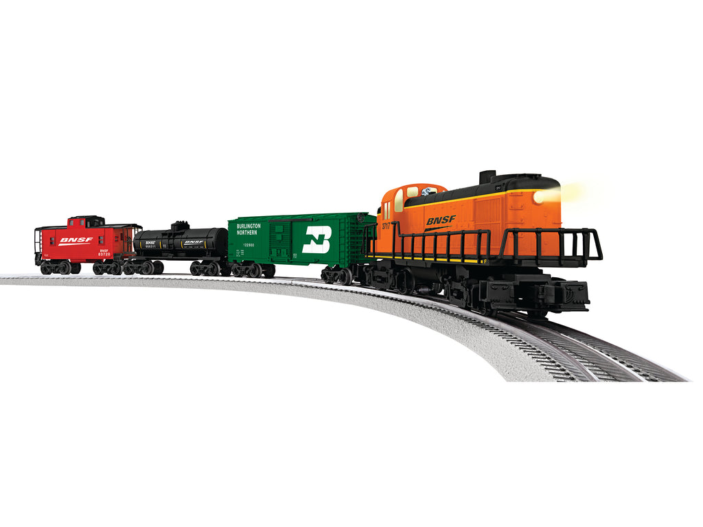 Lionel 6-83716 O BNSF RS-3 Diesel Scout Freight Train Set with Bluetooth