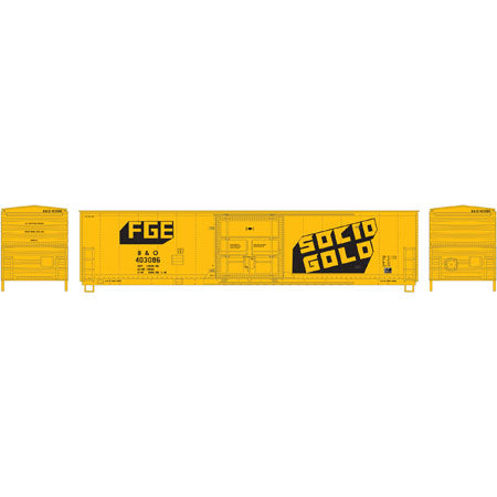 Athearn 85796 HO FGE/B&O 50' Superior Door Box Ready-to-Run #403086