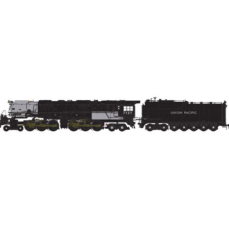 Athearn 22993 N Union Pacific 4-6-6-4 Challenger Oil Tender Steam Locomotive #3985