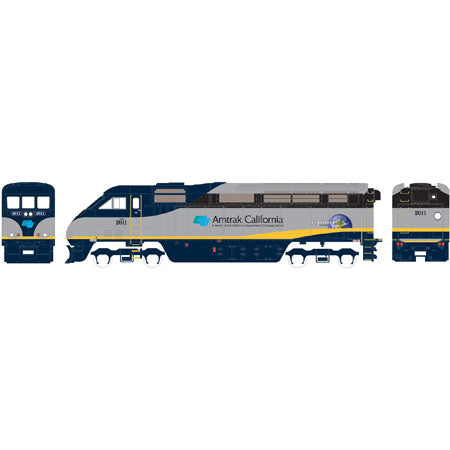 Athearn 94877 HO Amtrak/California F59PHI Diesel Locomotive Ready-to-Run #2011