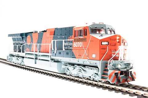 Broadway Limited 3423 N BHP Iron Ore GE AC6000 Diesel Loco Sound/DC/DCC #6075