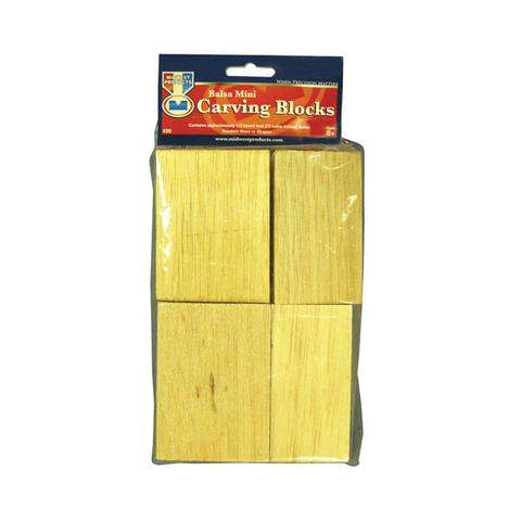 Midwest Products 20 Balsa Mini Carving Block Bag