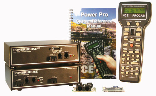 NCE 0006 PH-10 10 Amp Starter Set with D408 Decoder