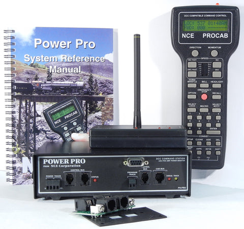 NCE 0002 PH-PRO-R Wireless Power Pro 5-Amp Starter Set