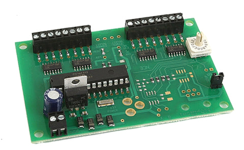 NCE 0136 N DCC Decoder for 8-Tortoise Switch Machines