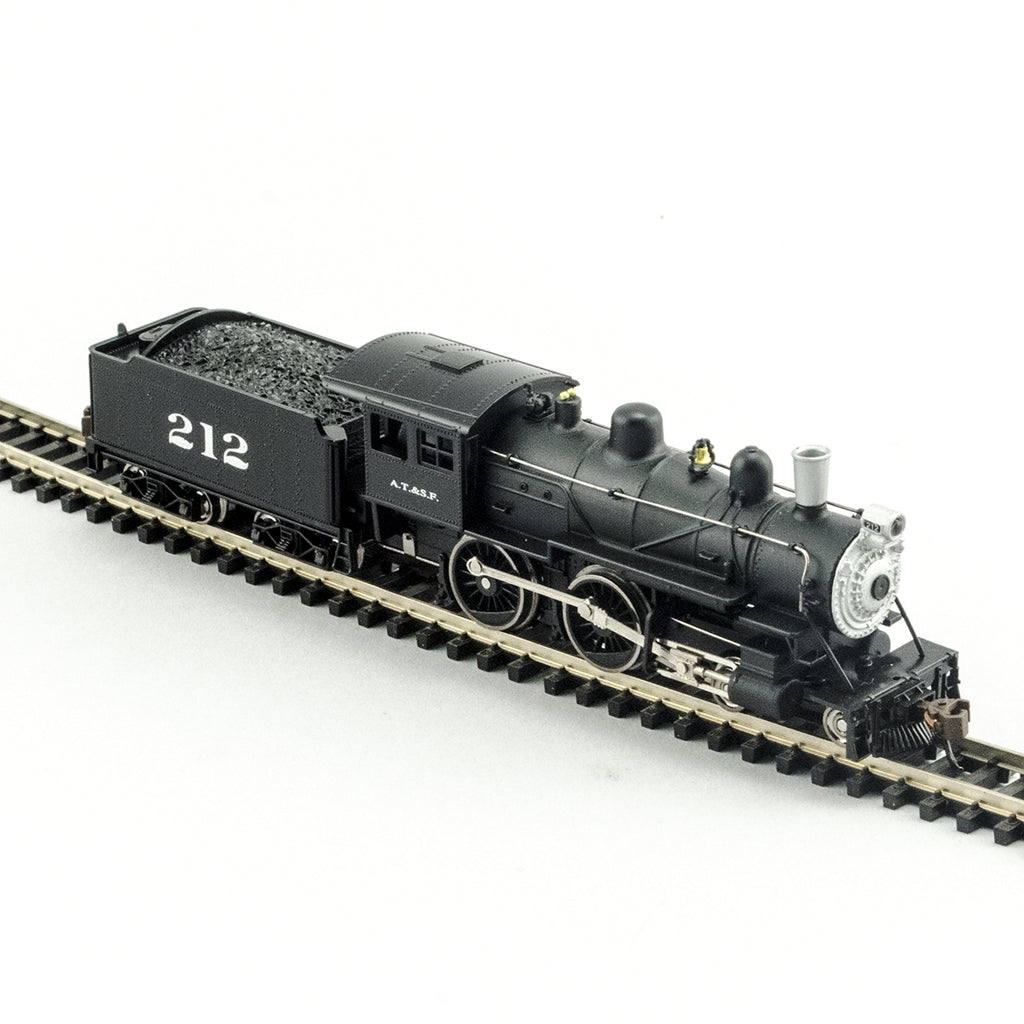Model Power 876341 N Atchison Topeka & Santa Fe 4-4-0 American Steam Engine #212