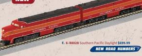 American Flyer 6-48028 Southern Pacific Legacy A-A Set