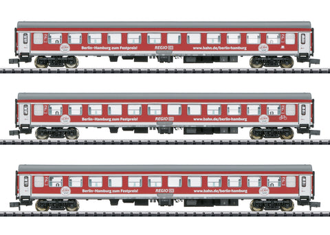 Trix 15711 N Berlin – Hamburg Express Passenger Car Set