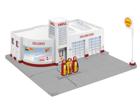 Lionel 6-84496 O Shell Gas Station