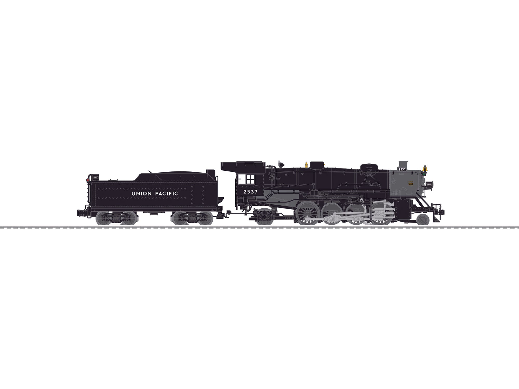Lionel 6-84471 O Union Pacific BTO USRA Light Mikado #2537