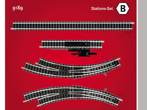 Fleischmann 9189 N Station Set B Track Pack