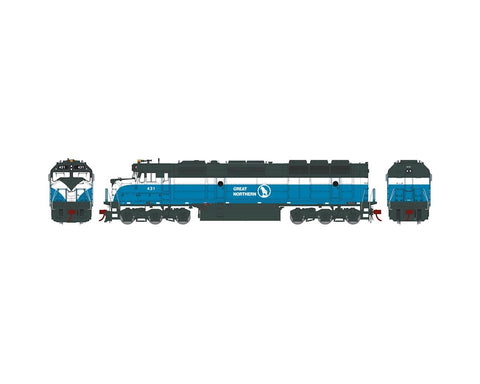 Athearn G25261 HO Great Northern F45 #431