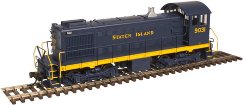 Atlas 10002432 HO Staten Island S-2 Locomotive (Blue/Yellow) #9031
