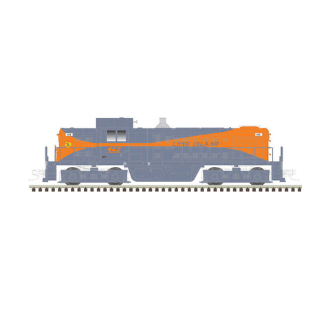 Atlas 40003083 N Long Island RS-1 Locomotive (Grey/Orange) #469