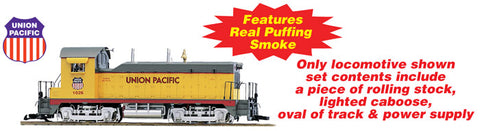 USA Trains R72305 G Union Pacific Freight NW-2 Train Set