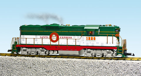 USA Trains R22134 G Christmas 2012 EMD GP9 Diesel Locomotive #1225