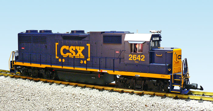 USA Trains R22231 G CSX EMD GP 38-2 Blue/Yellow Diesel Locomotive #2642