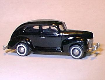 Williams Brothers 53100 HO Ford Deluxe Sedan Plastic Kit 1939