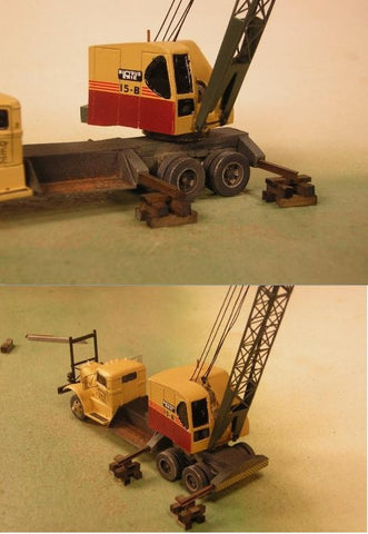 Sheepscot Scale Products 95021 HO 15 Ton Truck Crane Building Kit