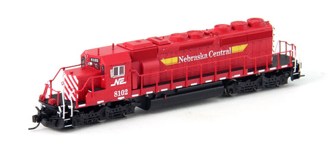 InterMountain 69369D N Nebraska Central SD40-2 Diesel Loco Standard DC #8102