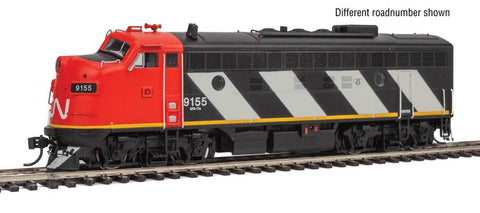 Walthers 920-40910 HO Canadian National EMD F7A with Tsunami® Sound & DCC Diesel Locomotive #9168