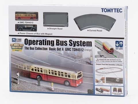TomyTec 257998 N North American Operating Bus System Starter Set