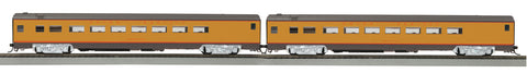 MTH 8060055 HO Union Pacific 2-Car Passenger Set (Smooth)