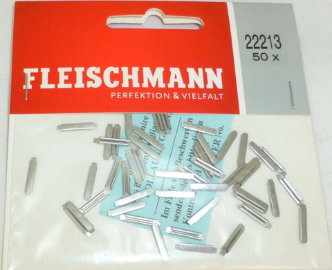 Fleischmann 22213 N Rail Joiners (app. 50 pieces per pack.)