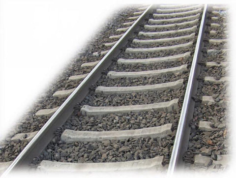 Fleischmann 6109 HO Flexible Track with Concrete Sleepers and Bendable Ballast