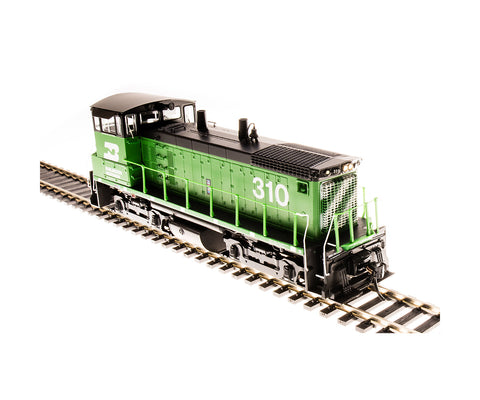 Broadway Limited 5444 HO Burlington Northern EMD SW1500 Diesel Locomotive  #310