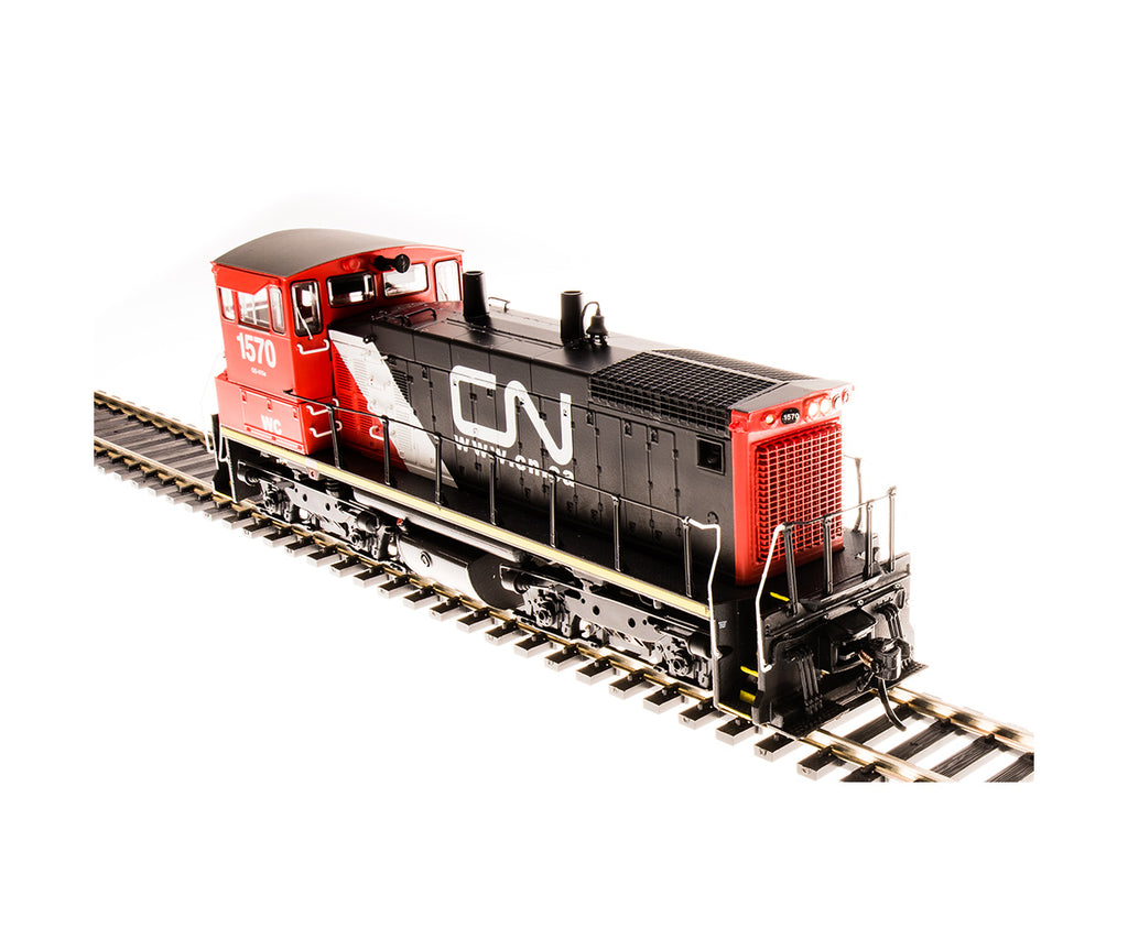 Broadway Limited 5449 HO Canadian National EMD SW1500 Diesel Loco Paragon3 #1570