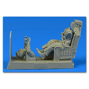 Aerobonus 320112 1:32 US Navy Pilot for A-4 with Ejection Seat for Trumpeter/Hasegawa