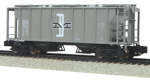 MTH 35-75045 S Boston & Maine PS2 2Bay Hopper #5525